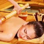 Masaż bambusem