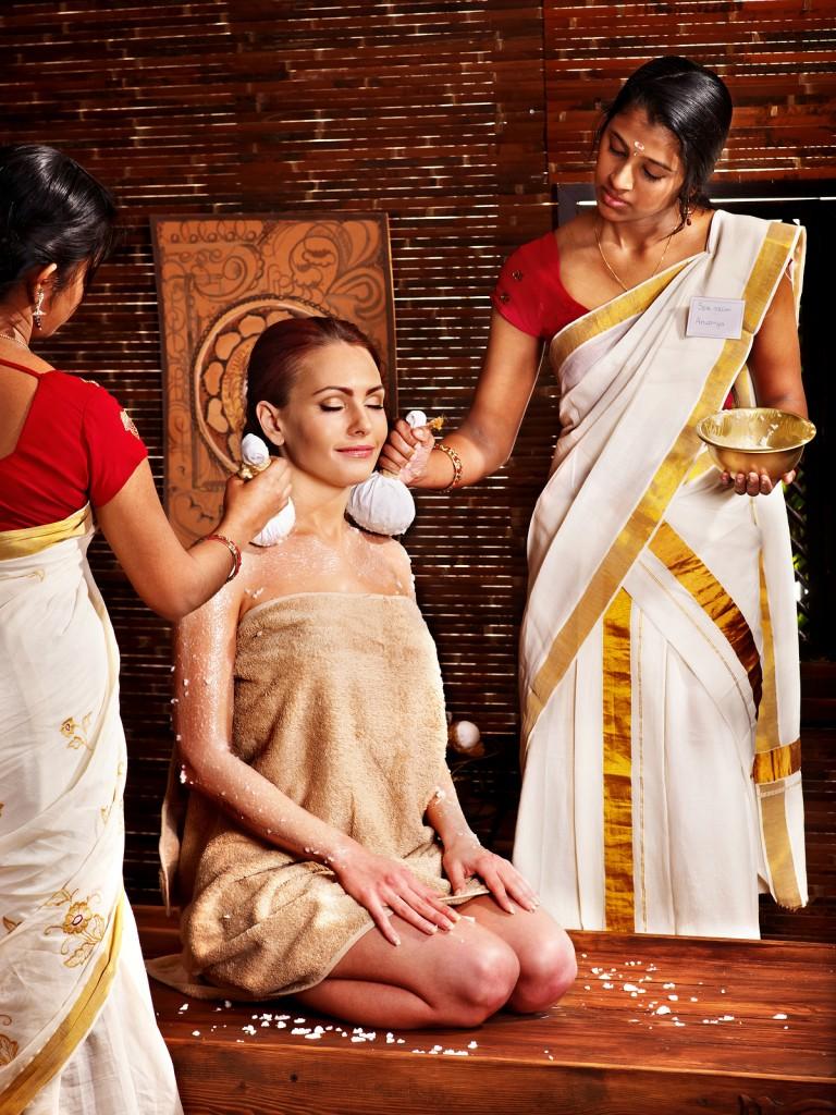 masaż indiański